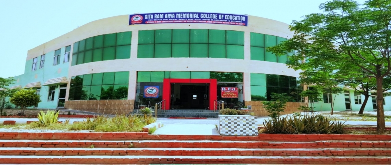 Welcome to Sita Ram Arya Memorial College of Education